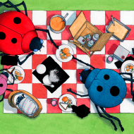 Spot, a Visual Adventure App from David Wiesner #Giveaway