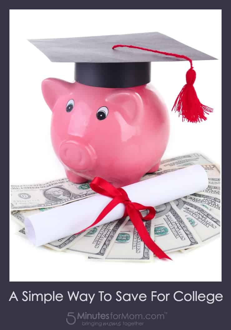 A Simple Way To Save For College
