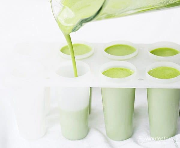 Green Smoothie Popsicles Recipe