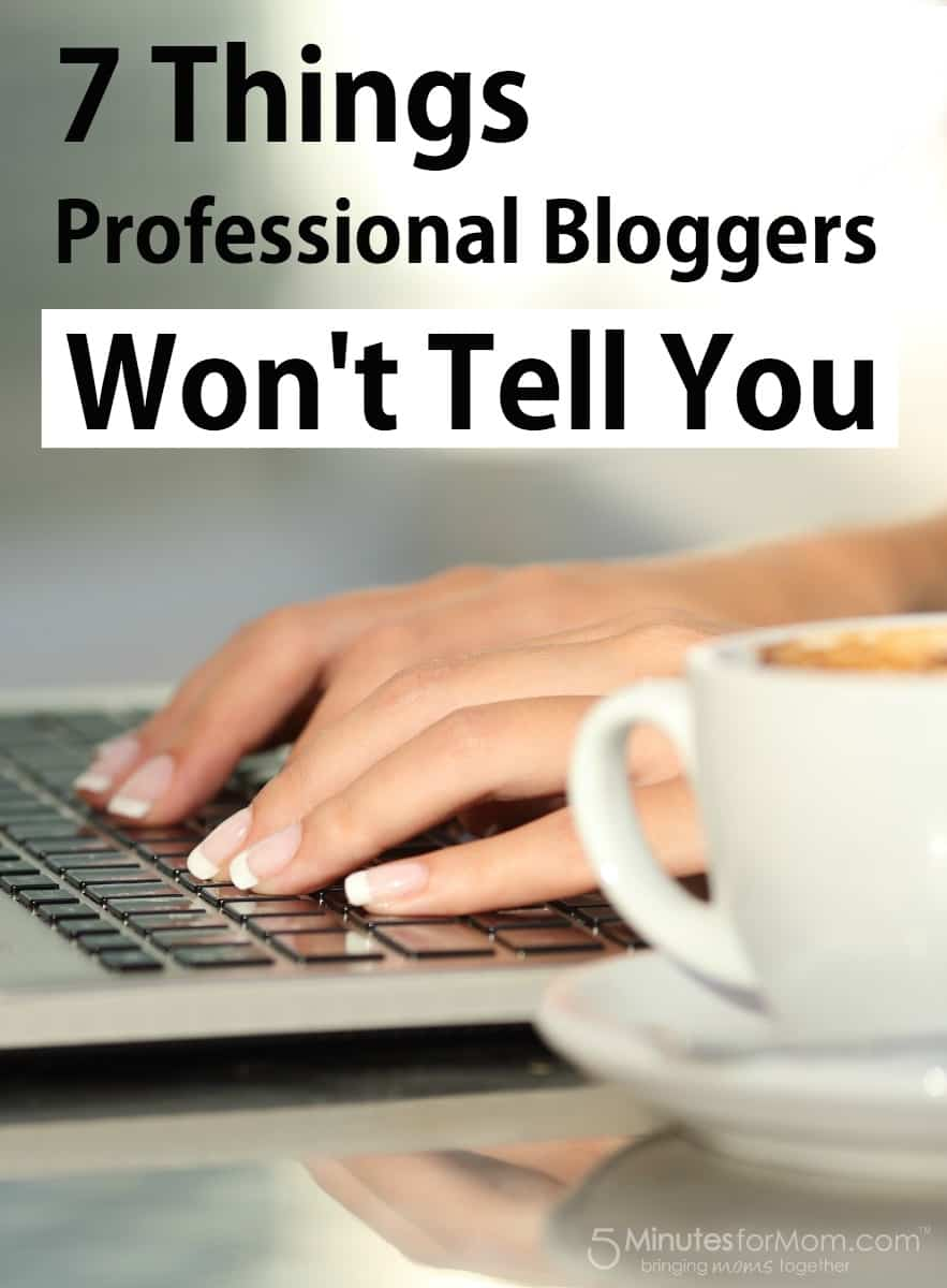 7 Things Professional Bloggers Will Not Tell You
