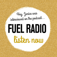 Inside The Life of a Professional Blogger – Janice's Interview on Fuel Radio Podcast