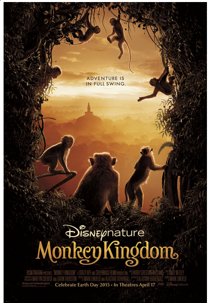Disneynature Monkey Kingdom Poster