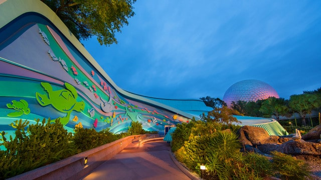 The Seas with Nemo and Friends Exterior Photo Credit Disney Parks