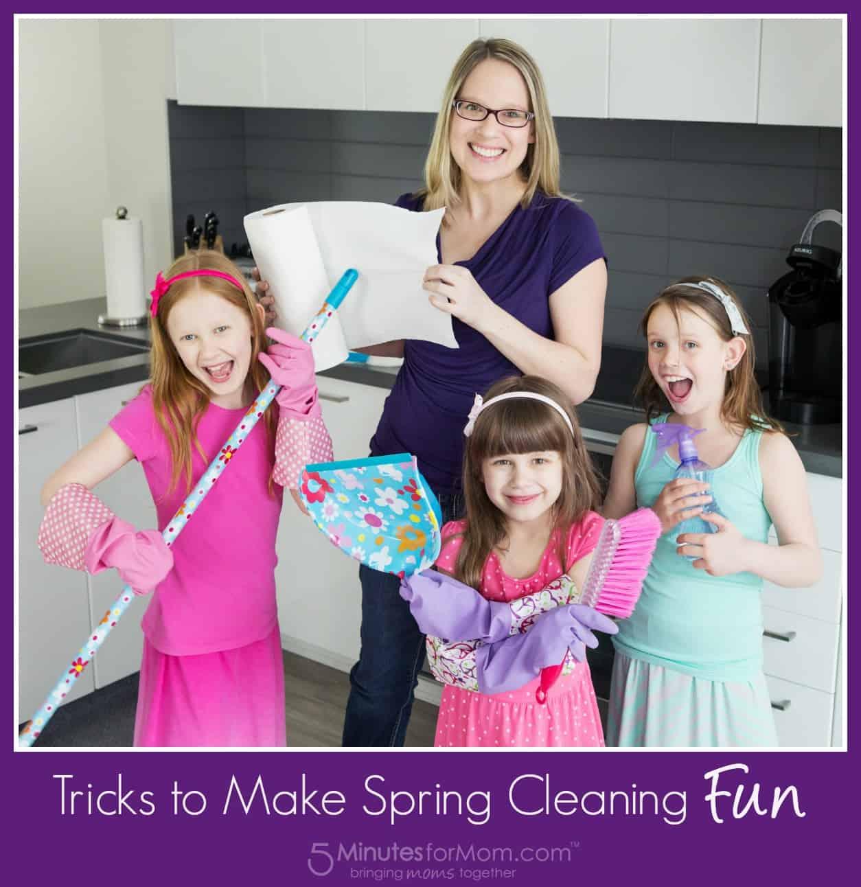 Tricks to Make Spring Cleaning Fun