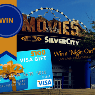 """Make Your """"Night Out"""" Even Easier with Visa Checkout and Cineplex #Giveaway #Canada"""