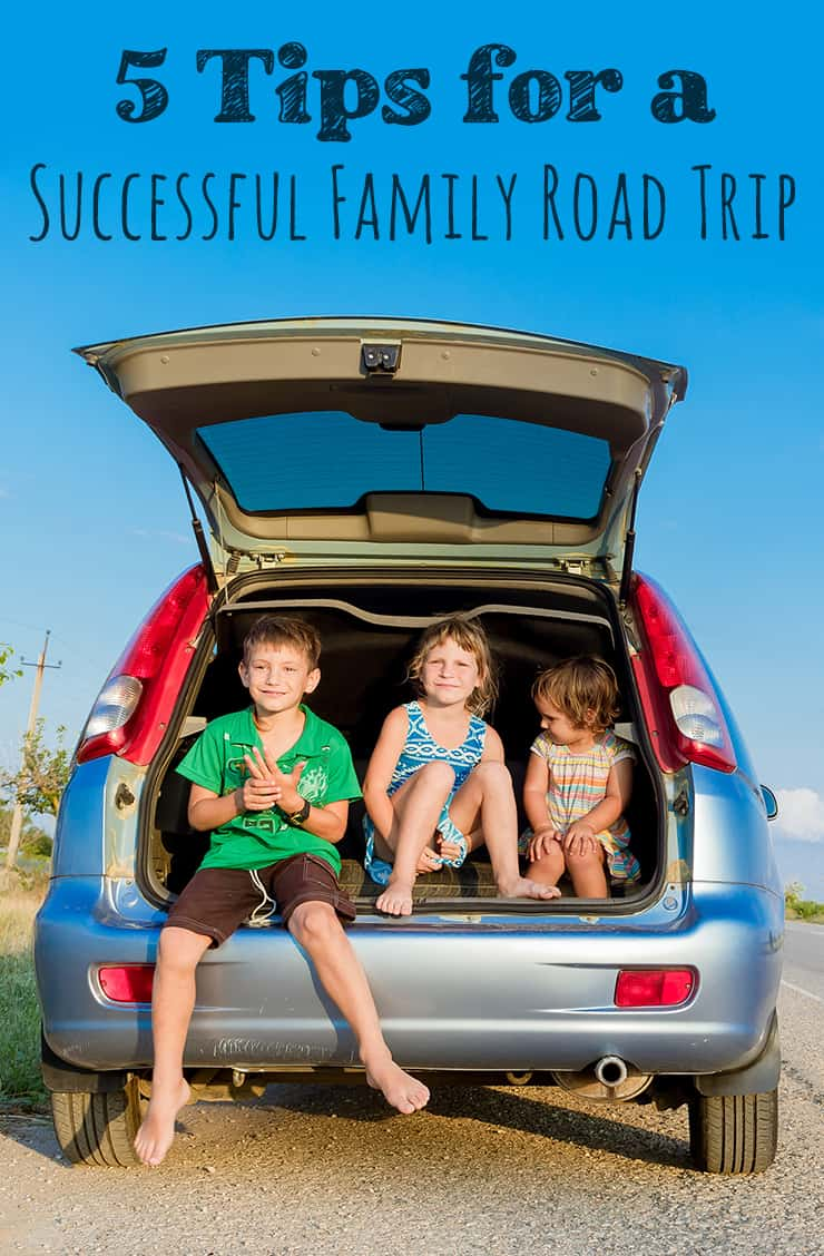 5 Tips for a Successful Family Road Trip