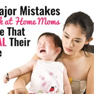 9 Major Mistakes Work-at-Home Moms Make That Steal Their Time