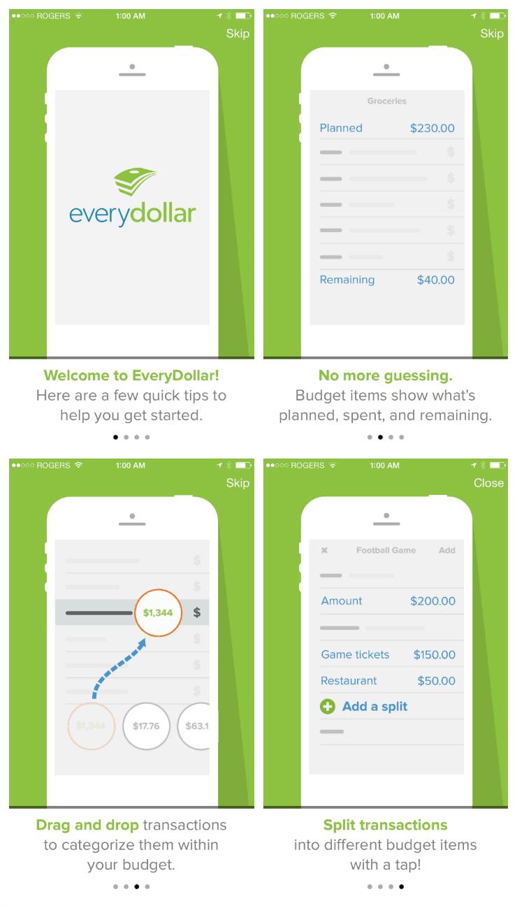 EveryDollar Mobile App