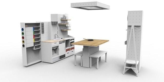 IKEA HACKA Kitchen