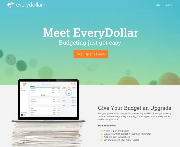 Meet EveryDollar