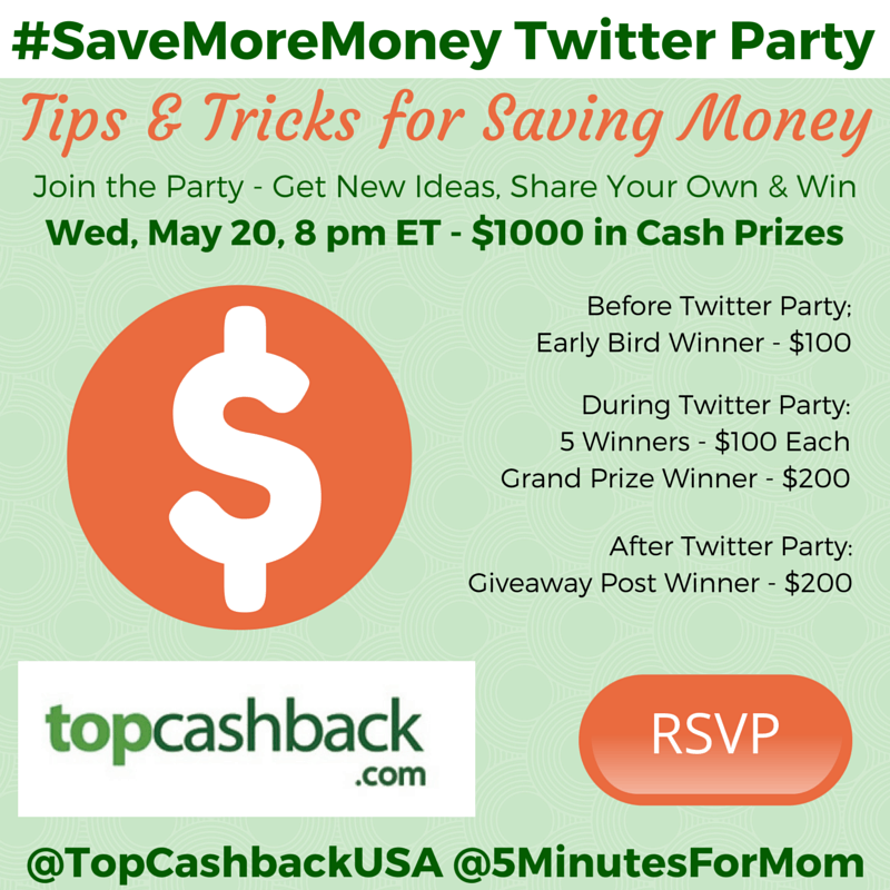 SaveMoreMoney Twitter Party