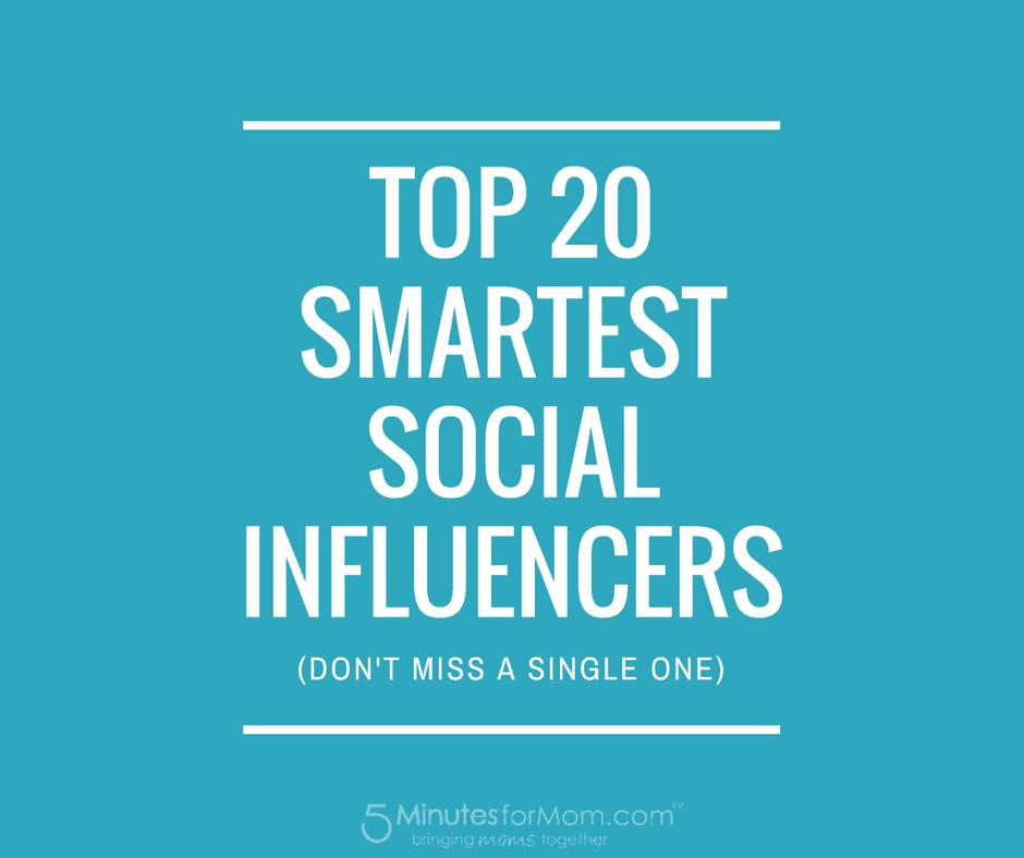 Top 20 Social Influencers