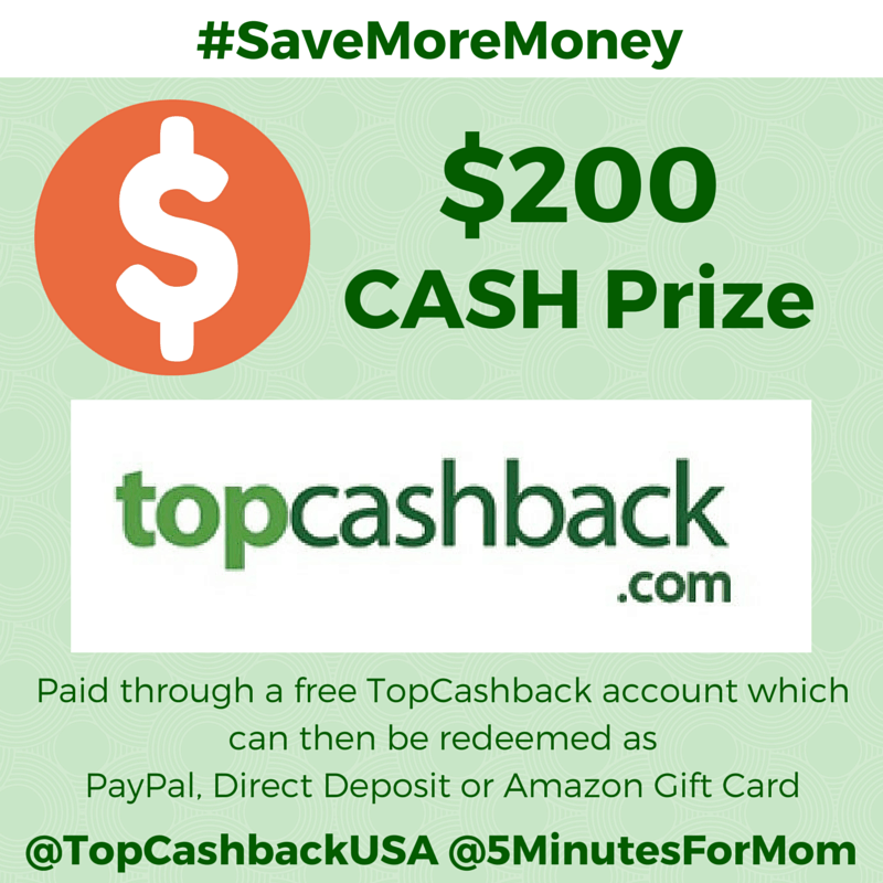 TopCashBack Giveaway Prize