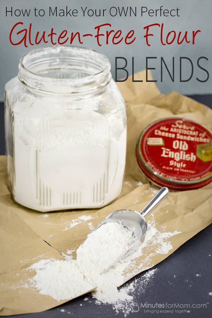 how to make gluten-free flour blends