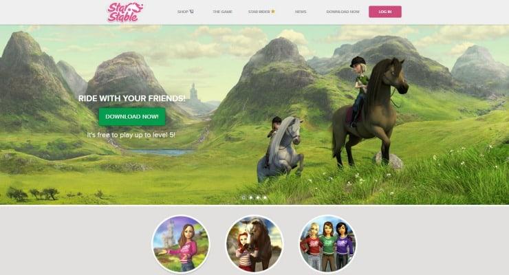 Star Stable Horse Adventure Game   5minutesformom.com