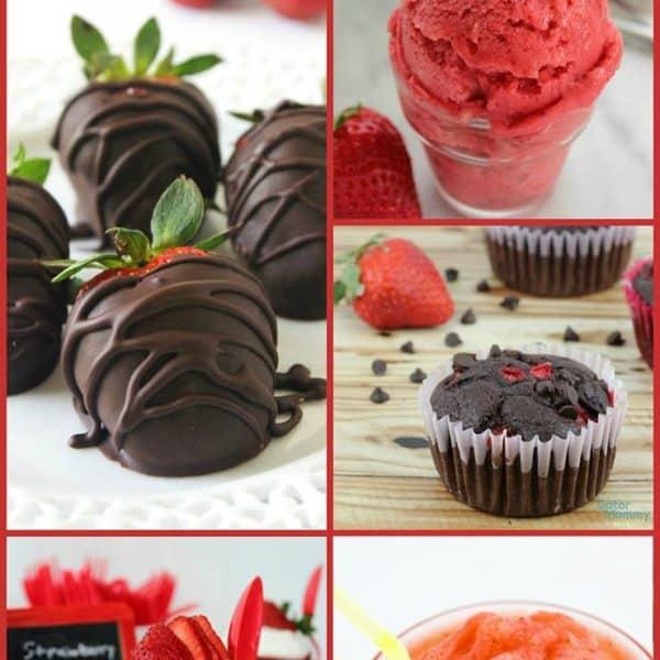 15 Sweet Strawberry Recipes