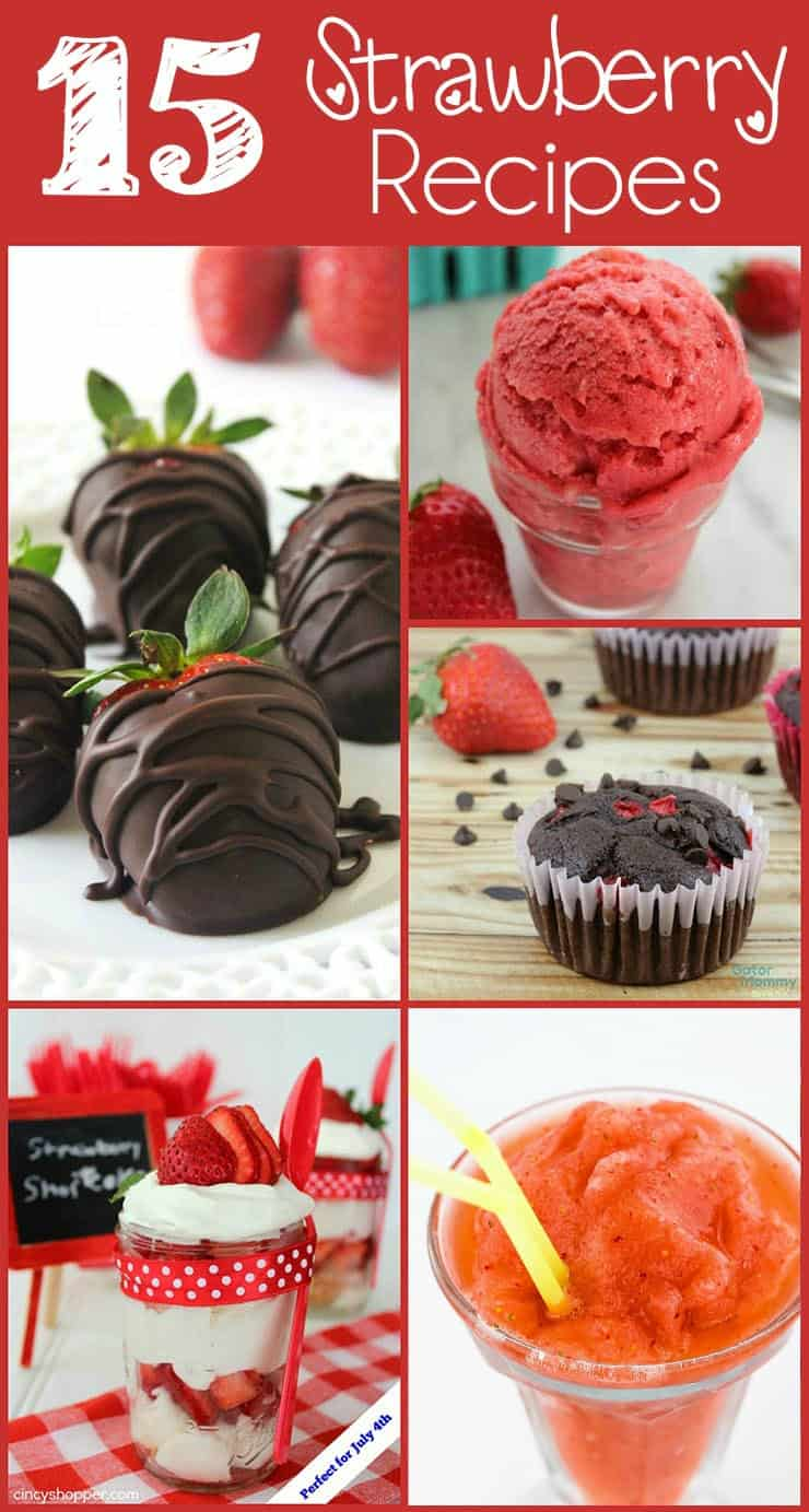 15 Strawberry Recipes