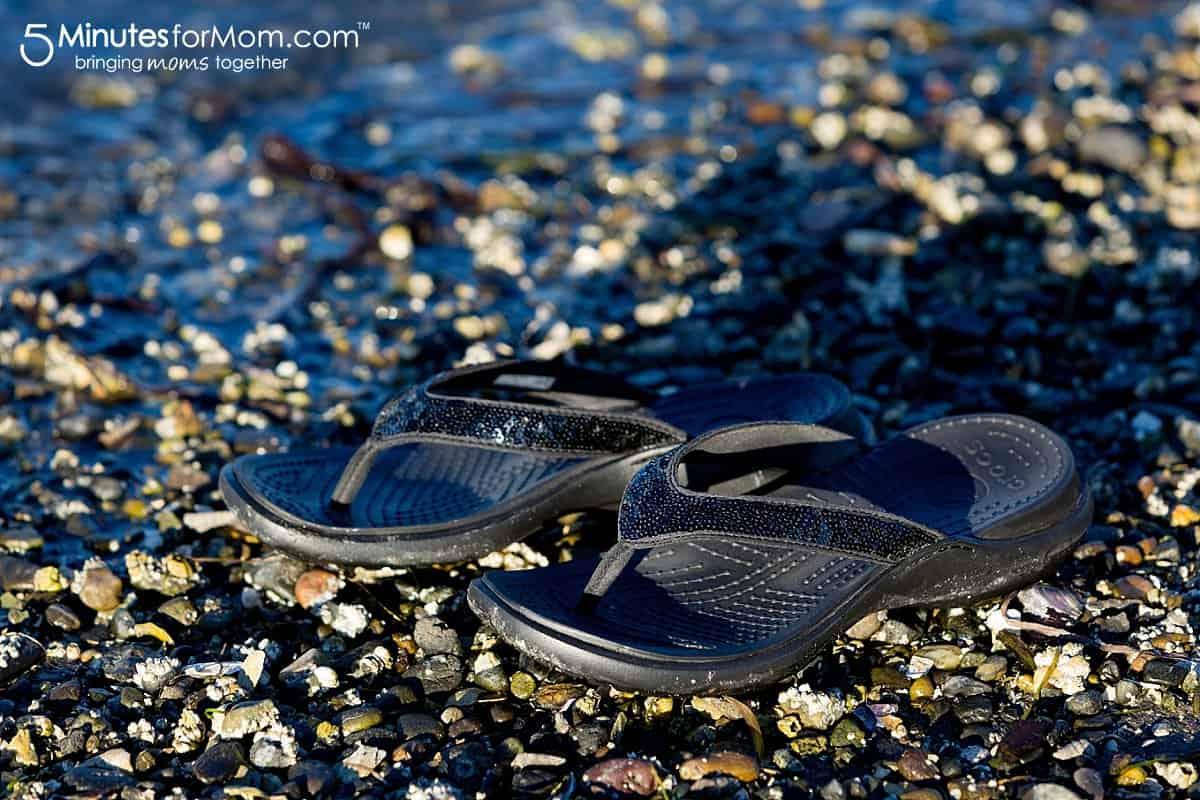 Crocs® Capri Sequin Flip-Flop