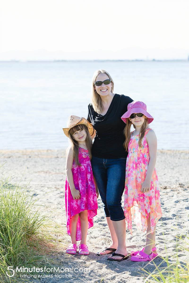 Crocs® Summer Family Fashion at the Beach