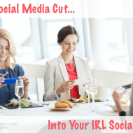 Does Social Media Cut Into Your IRL Social Time? #BeSocial