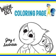 Inside Out Coloring, Activity Sheets and Recipes – #InsideOut