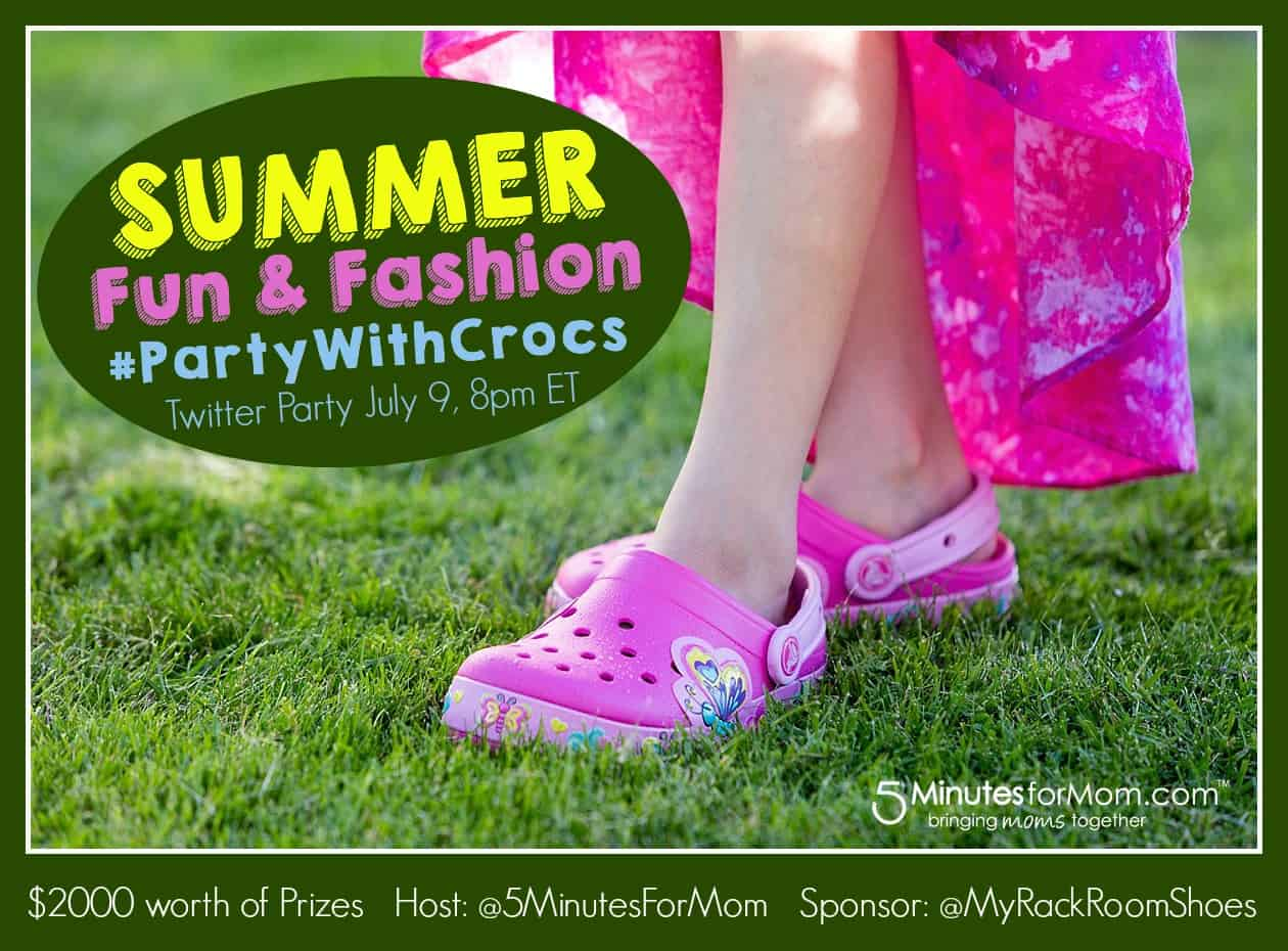 Summer Fun and Fashion PartyWithCrocs® Twitter Party