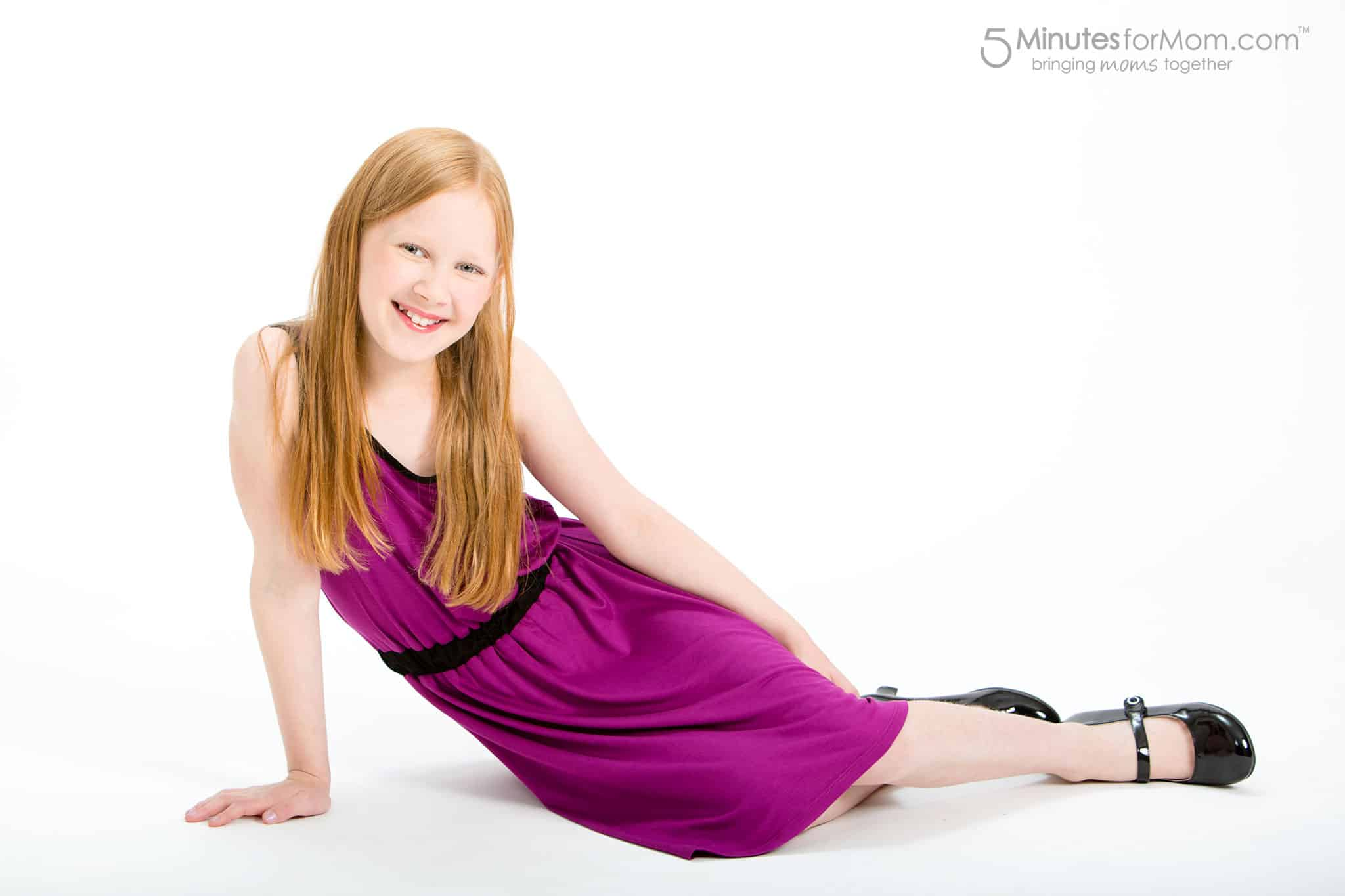 Evelyn Alex - Clothes for Tween Girls - Purple Dress for Tweens