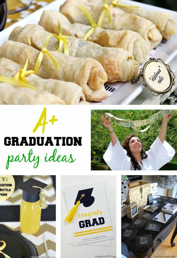 graduation party ideas  5minutesformom.com