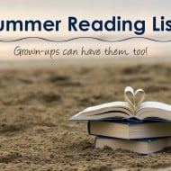 Why You Need a Summer Reading List