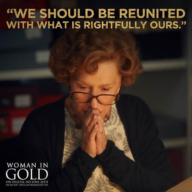 Woman in Gold movie, Helen Mirren, Ryan Reynolds