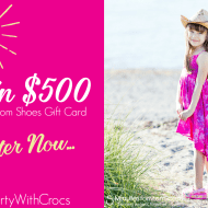 Win $500 Gift Card @MyRackRoomShoes #PartyWithCrocs