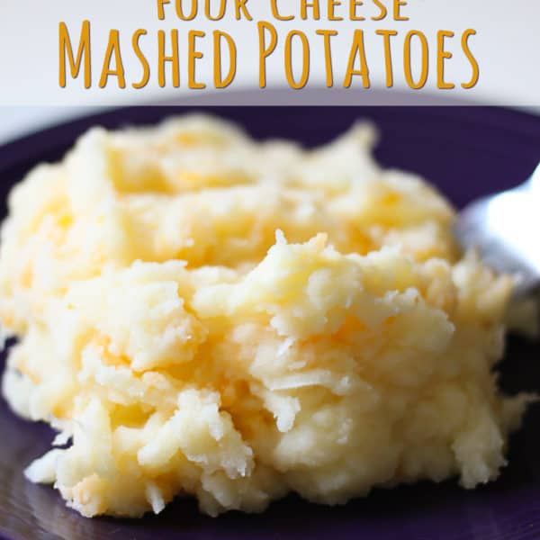 Creamy Four Cheese Mashed Potatoes with DairyPure Milk