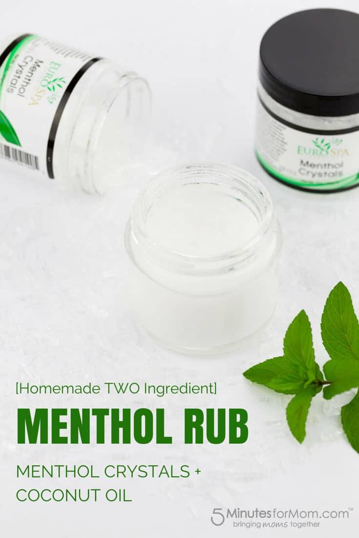 Homemade Menthol Rub