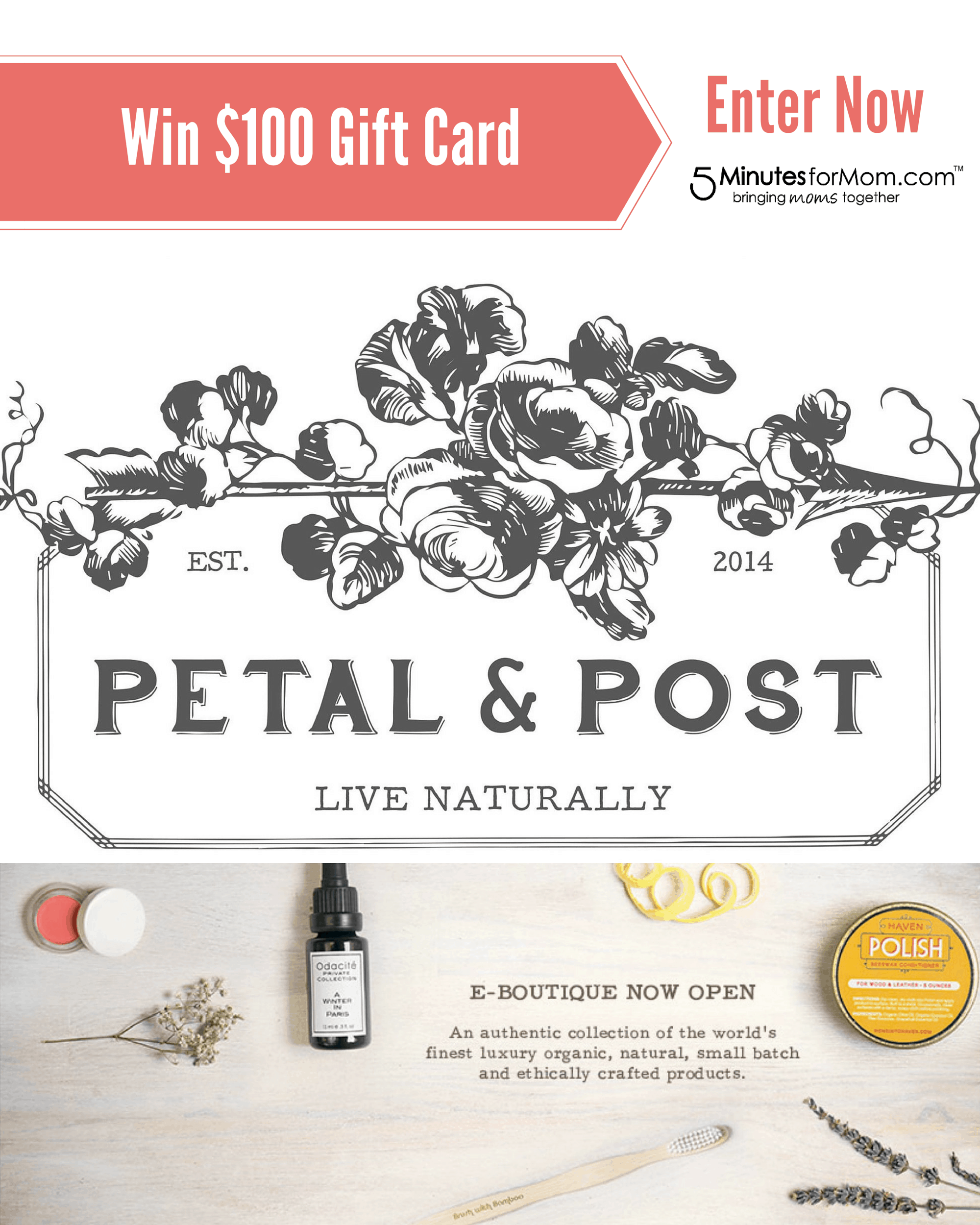 Petal and Post Giveaway