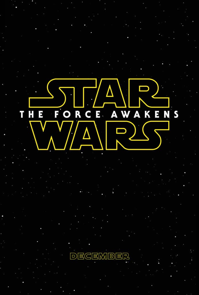 Star Wars- The Force Awakens Poster