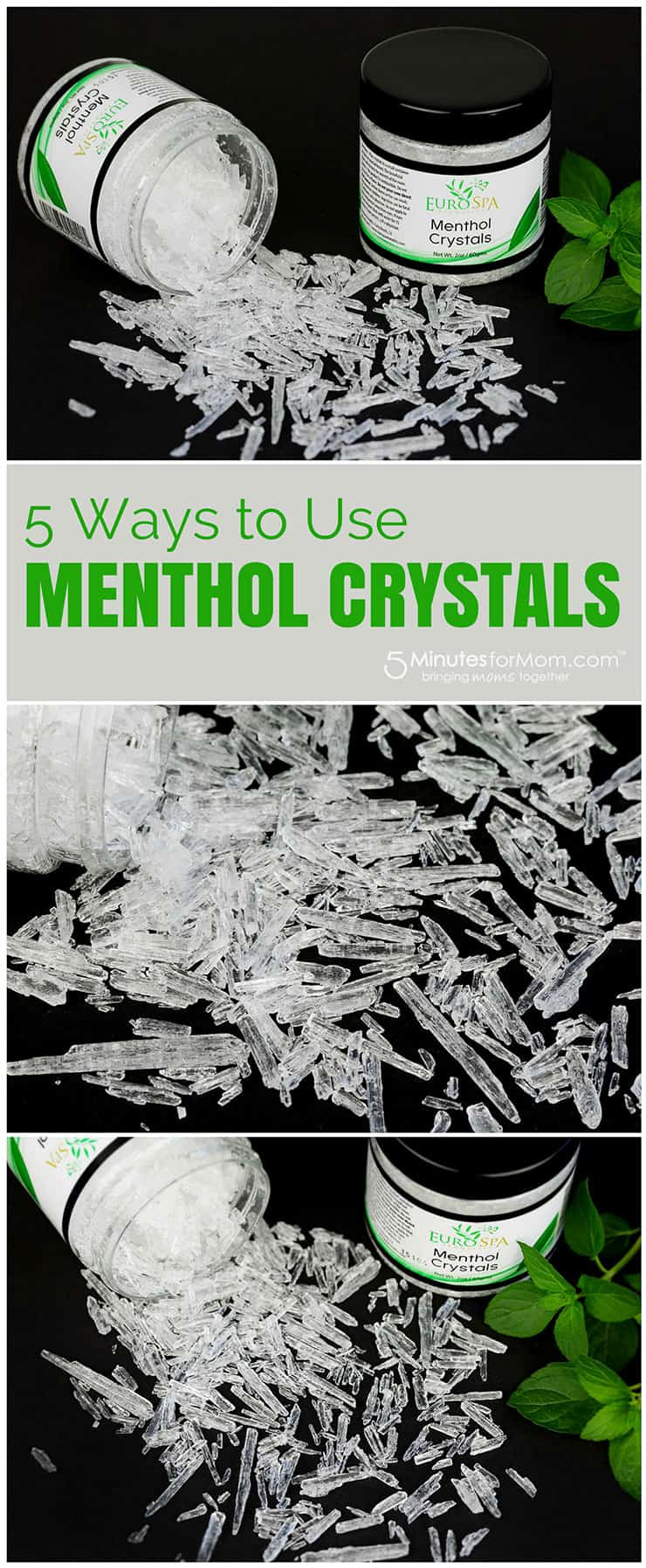 Menthol Crystals Uses