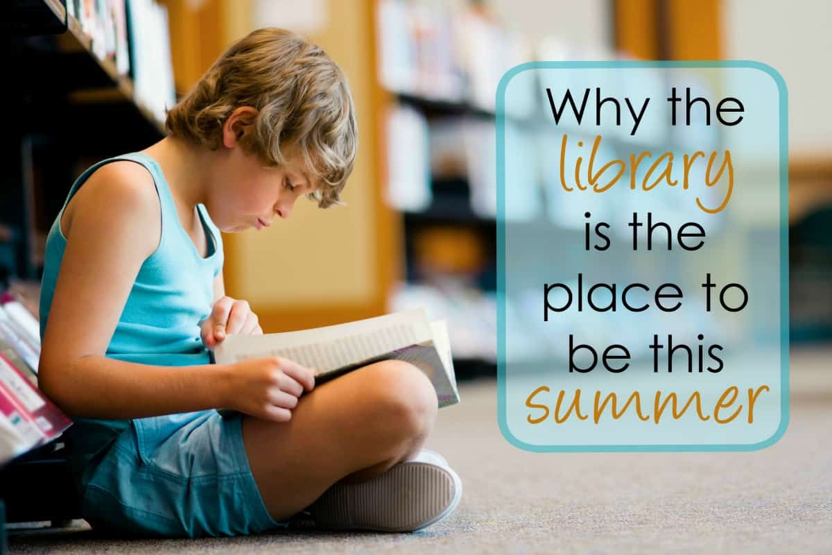 Don't forget to make the public library a regular part of your summer routine!