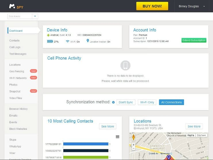 mSpy software keeps kids safe online and helps parents monitor their activity