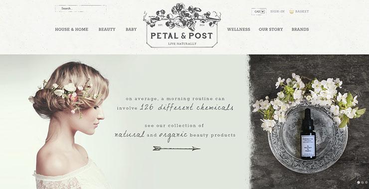 Petal and Post online boutique