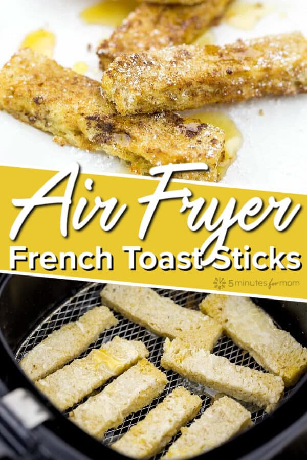 Air Fryer French Toast Sticks Recipe