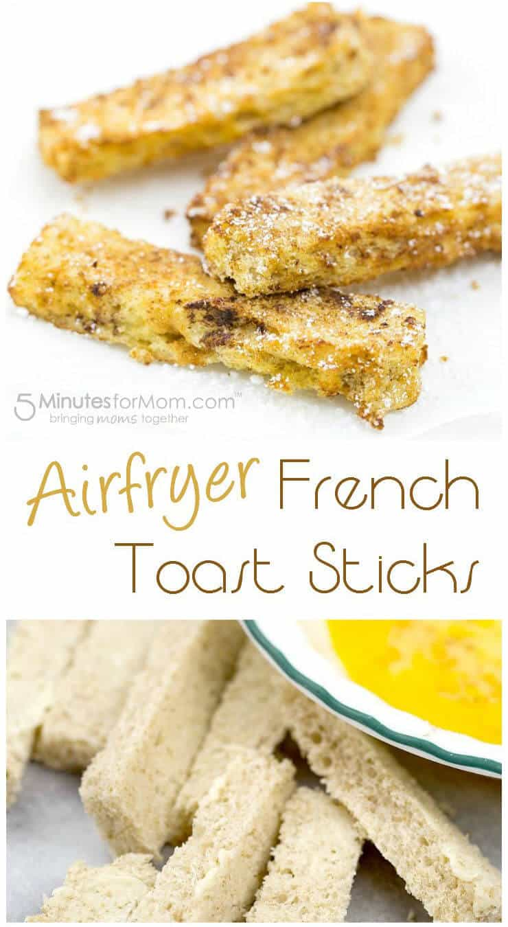 Airfryer French Toast Sticks Recipe