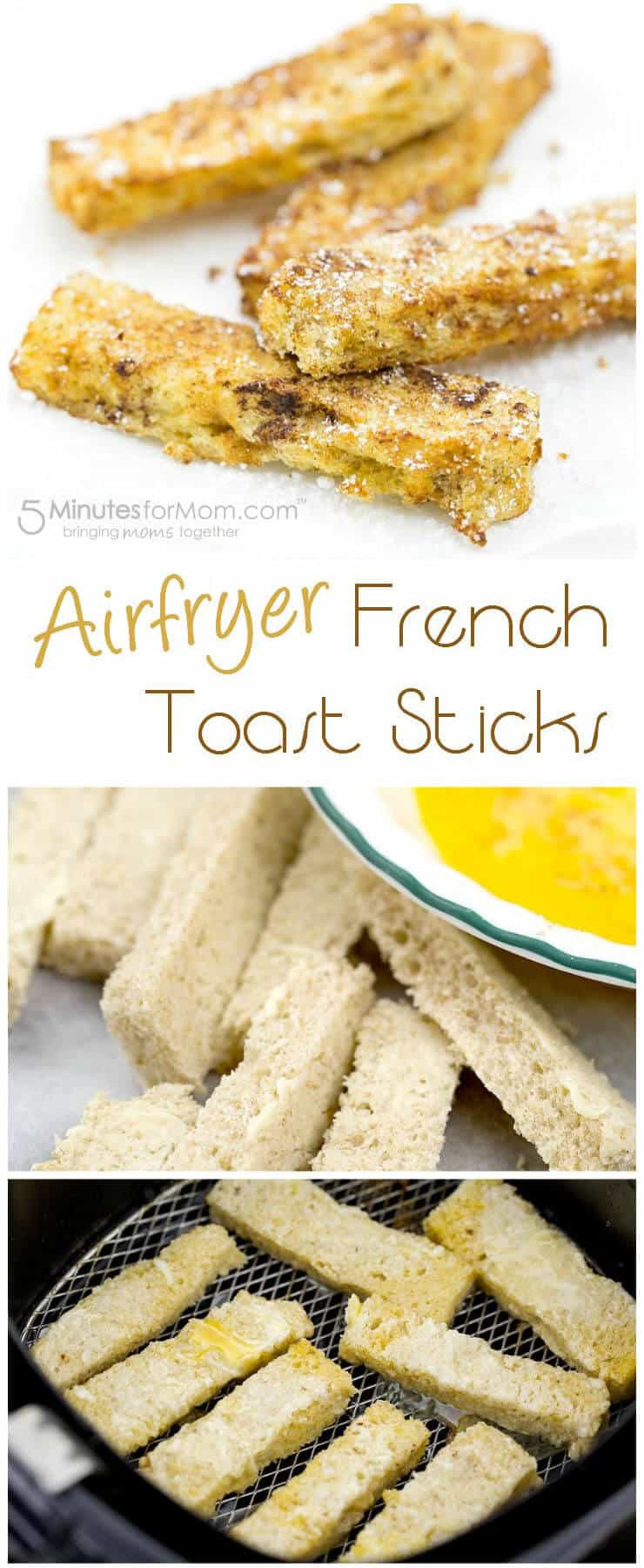 Airfryer French Toast Sticks - Easy Air Fryer Recipe