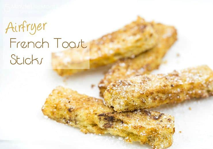 Airfryer French Toast Sticks horizontal