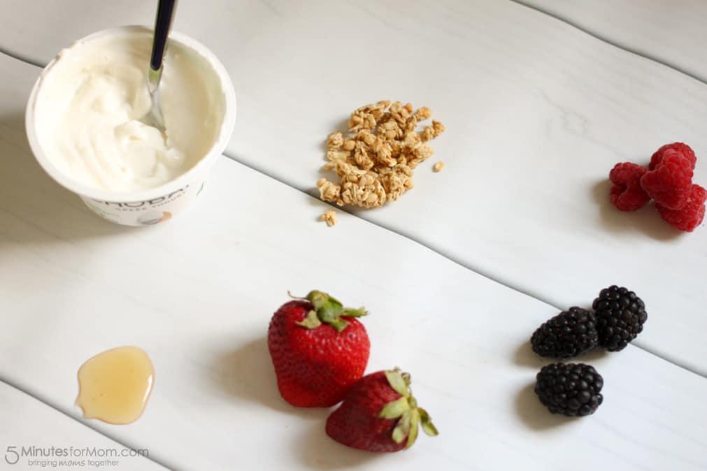 Delicious and Healthy Breakfast Bowl with Chobani Greek Yogurt-1