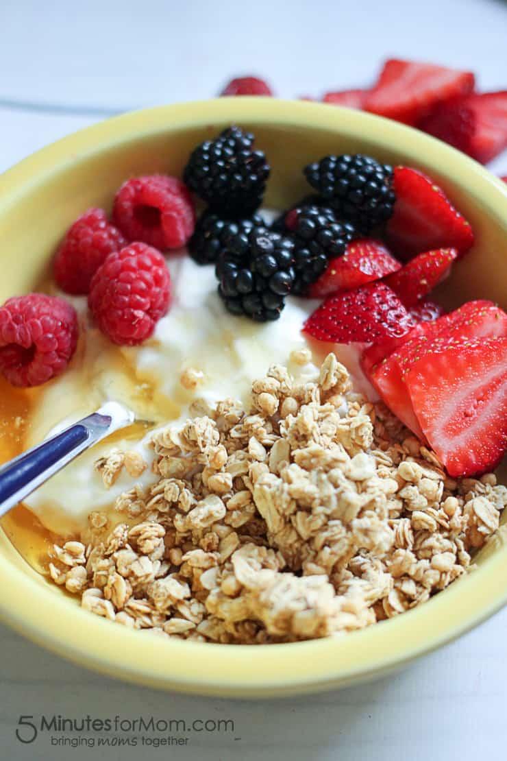 Delicious and Healthy Breakfast Bowl with Chobani Greek Yogurt-7