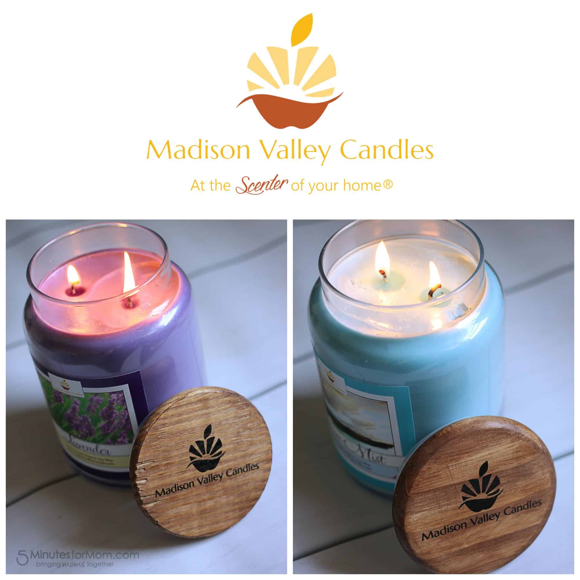 Madison Valley Candles at the Scenter of your Home
