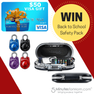 Win a Back to School Safety Prize Pack #LSSS #Giveaway