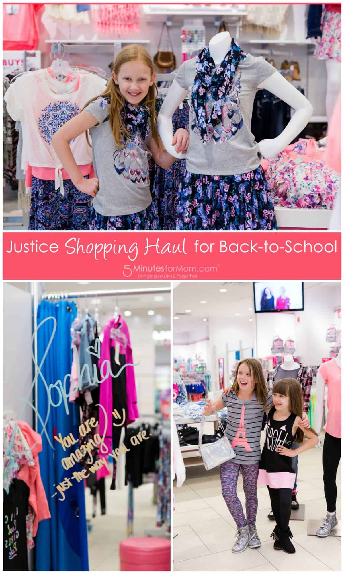 Justice canada clothing store