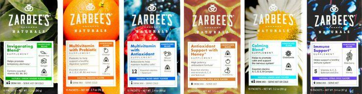 Zarbee's Naturals Vitamin Drink Mixes