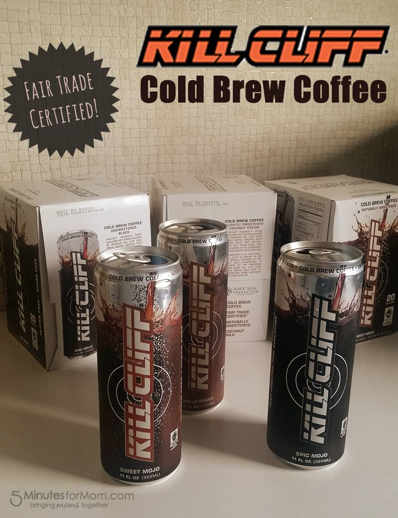 Love Cold Coffee? Look No Further than Kill Cliff Cold Brew Coffee!